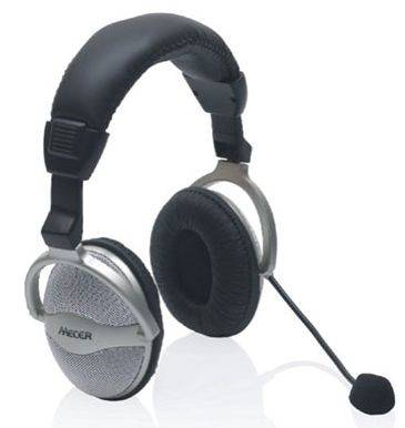 RKH50-1 Mecer USB stereo headphone & Microphone with volume control