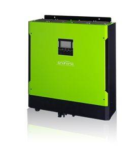 SOL-I-IS-5E Mecer InfiniSolar E 5.5KW Single Phase 6500W MPPT - bi directional with grid