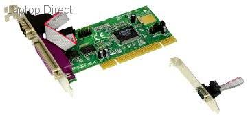 9835P-PR2 Mecer 9835P-PR2 PCI 1-Port Parallel / 2-Port RS232 Card