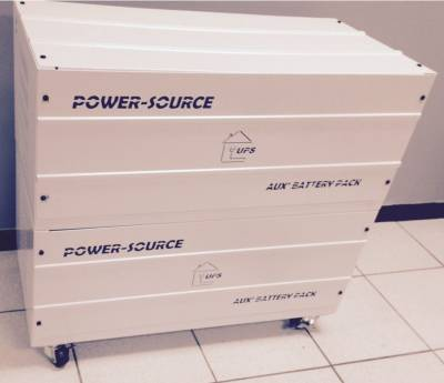 SOL-BATBOX-4-100 Mecer Battery Box with wheels for 4 x 100Ah batteries