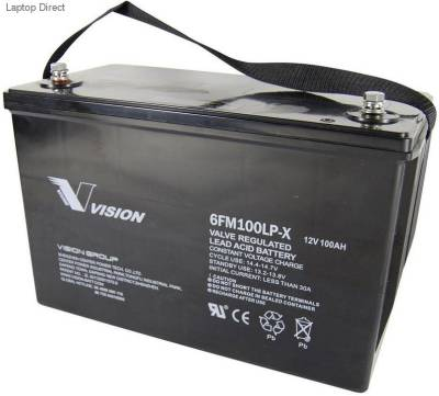 SOL-B-105-12P Mecer Deep Cycle 105Ah 12V Deep Cycle Battery